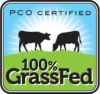 PCO Certified 100% GrassFed